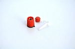 6195064 Knob 14 MM Red, Upper Pressure Limit Maquet Servo 300 Ventilator