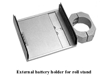 M1162050 External Roll-Stand Battery Holder for GE/Versamed iVent 201 Ventilator