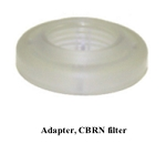 M1161967 CBRN Filter Adapter for GE/Versamed iVent 201 Ventilator