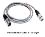 M1162000 1.4-m Length External Battery Cable for GE/Versamed iVent 201 Ventilator