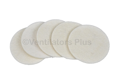 L-002917-00 Air Inlet Filter Pads Covidien Puritan Bennet LP Series (Pack of 5)
