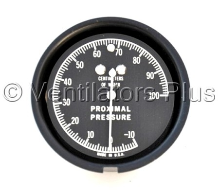 52000-00964 Manometer Gauge, -10 to 100cmH20 Carefusion Bear 33 Ventilator