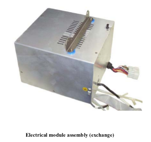 M1161957 Electric Module Assembly (exchange) for GE/Versamed iVent 201 Ventilator
