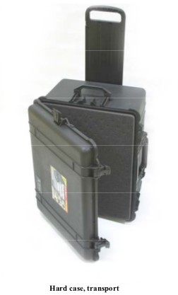 M11611882 Hard Transport Case for GE/Versamed iVent 201 Ventilator