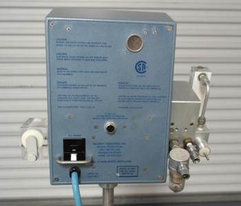 sechrist iv 100b infant ventilator with oxygen blender rh stores ventilatorsplus com sechrist blender service manual sechrist millennium service manual