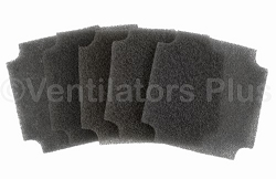10789X5 Fan Filter (5 Pack) Carefusion LTV Series Ventilator