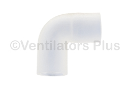 4-020717-00 Elbow Connector 22mm Silicon, Covidien 7200 Ventilator