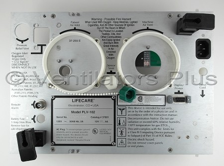 F37853 Back Panel MOD Assembly, Respironics PLV-102