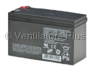 M1161722 Integrated Battery, 12 Volt GE iVent 201